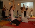 Yoga in interno